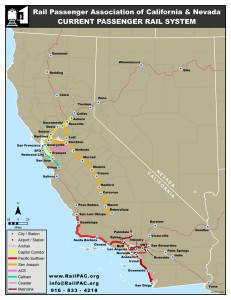 Current Passenger Rail System