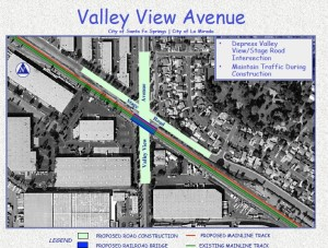 Caltrans ValleyViewGradeSep